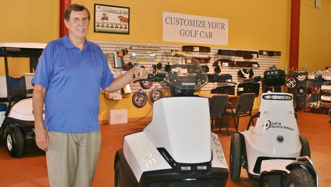 Roger Brownell of Naples-based Golf and Electric Vehicles.