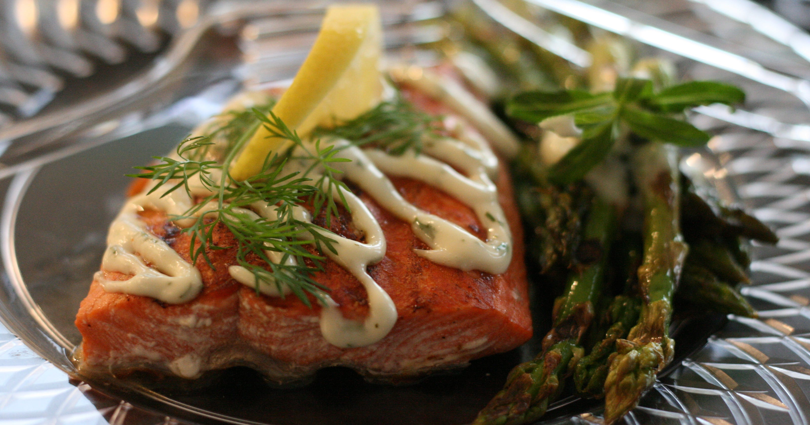 Grill up tasty salmon with help from george foreman