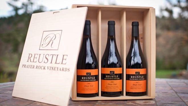 Reustle Prayer Rock Vineyards in Oregon's Umpqua Valley offers 100 percent estate-grown wines.