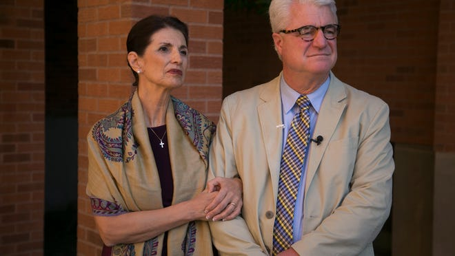 Diane and John Foley, the parents of slain journalist James Foley, expressed frustration at how the U.S. handled their son's case and their increasing sense that they were alone.