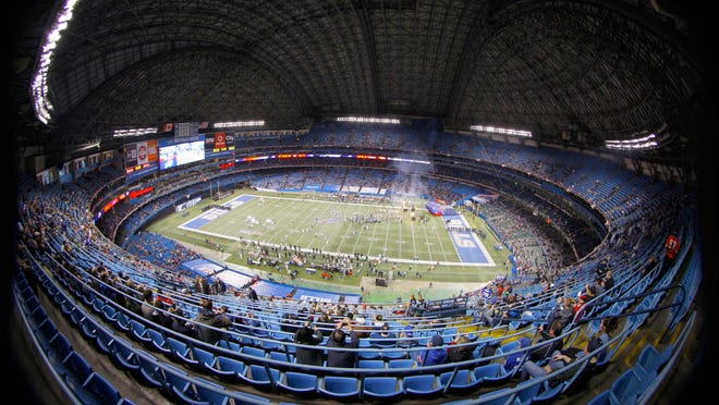 The Buffalo Bills called the Rogers Center home for one game a season.