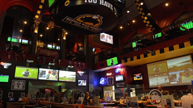 Buffalo Wild Wings has something to satisfy everyone. And with more than 30 televisions in each location, you'll have a great view of the game wherever you are.