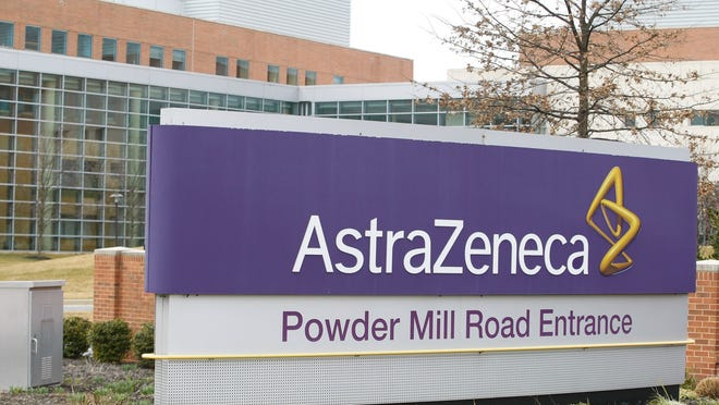 AstraZeneca's headquarters in Wilmington are seen in 2013.