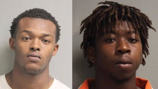 Ladarrian Damon Young (left) and Keilon Norris