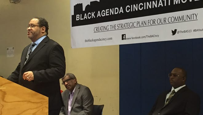 Michael Eric Dyson, author and Georgetown University professor, speaks Saturday to open Black Agenda Cincinnati workshop.