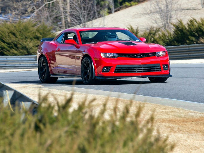 The 2015 Camaro Z/28 is the most track-capable model