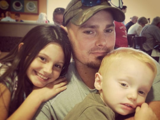 Former Blackwater security guard Dustin Heard with