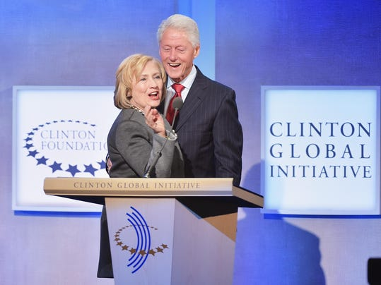FILE - The Clinton Foundation Under Intensifying Scrutiny Clinton Global Initiative