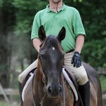 Special Olympics Mississippi athlete Kyle Dutiel of Brandon won a Gold Medal during the equestrian competition of the 2015 World Games today in Los Angeles.