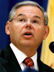 U.S. Sen. Bob Menendez, D-N.J.