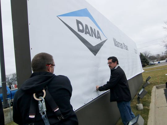 Dana Inc., auto supplier in Warren.