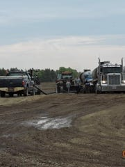 Residents near the Portage and Wood County border have raised concerns about manure that was applied to two fields recently added to the Central Sands Dairy nutrient management plan.