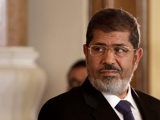 AP Mideast Egypt Morsi