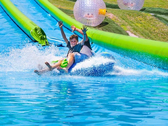 Roundtop Mountain Resort will unveil its brand-new 600-foot water slide Memorial Day weekend.