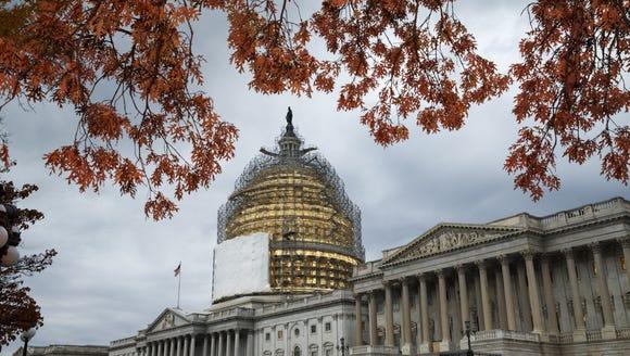 FILE - This Nov. 13, 2014, file photo shows the U.S.