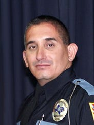 El Paso police Officer David Ortiz