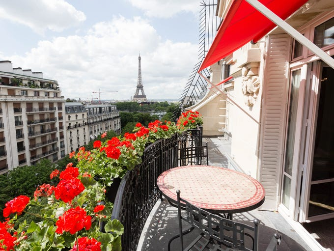 Hotel Plaza Athenee, 8th Arrondissement (Champs-Elysees):