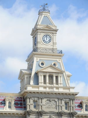 The Muskingum County Courthouse in Zanesville.