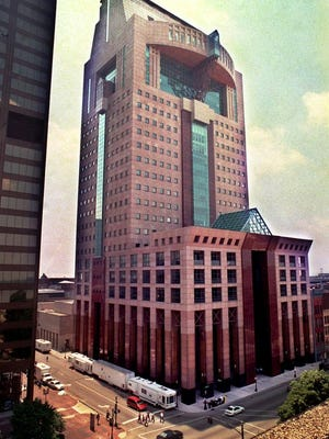 1998View of the Humana building at Fifth and Main streets in downtown Louisville.
