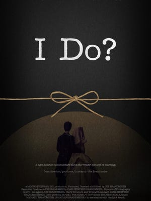 """The lighthearted marriage documentary """"I Do?"""" will screen March 4 at the Green Bay Film Festival. Movie goers can get an early look at it Feb. 14 at The Village Grille in Allouez."""