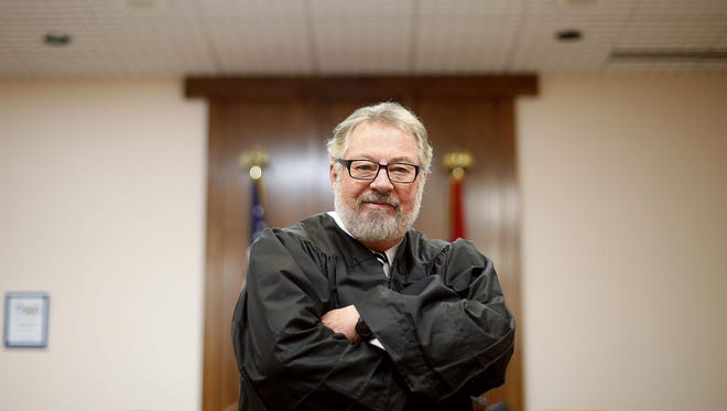 Known for his quick wit and his control of the courtroom, Conklin must now give up being a judge due to state law.