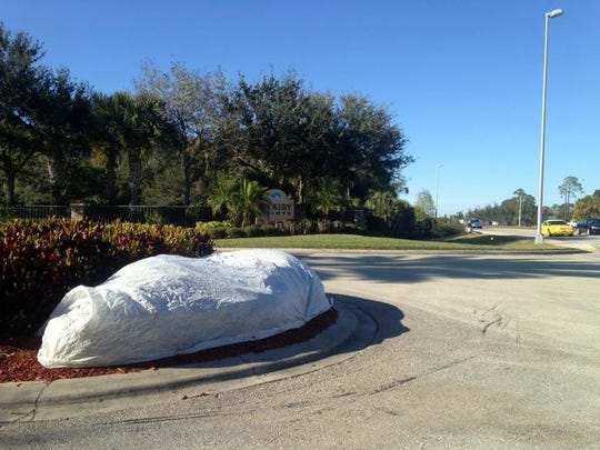 Lee County communities covering up in anticipation of frigid Friday temperatures.
