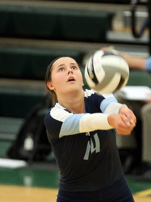 Mount Notre Dame's Margo Wolf was named Third-Team All America on Thursday