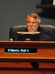 Former city-parish councilman Andy Naquin
