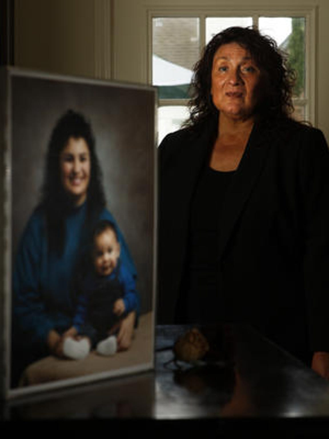 Angie Ortega, president of the Monterey County chapter of Parents of Murdered Children.