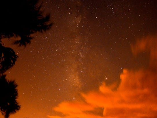 The Milky Way seen from Brevard County on Sept. 11,