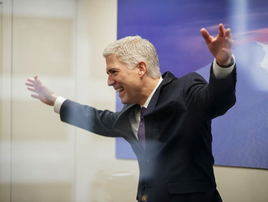 Supreme Court nominee Neil Gorsuch could be celebrating