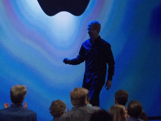 Apple's CEO Tim Cook GTY_170298251_56427479