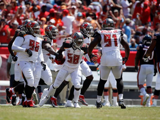 USP NFL  CHICAGO BEARS AT TAMPA BAY BUCCANEERS S FBN TB CHI USA FL d47a771c2