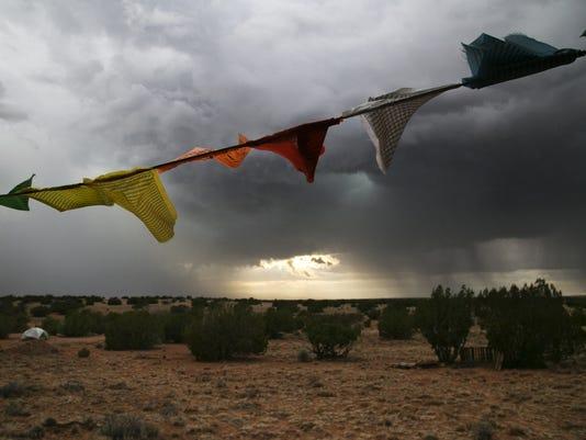 Monsoon #AZWX weather