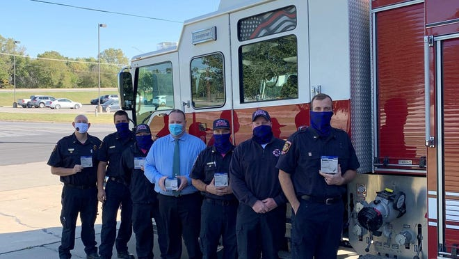 The Ottawa Fire Department recently purchased 250 smoke detectors through a donation. [SUBMITTED PHOTO].