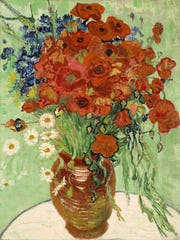 "Vincent van Gogh's ""Still Life, Vase With Daisies and"