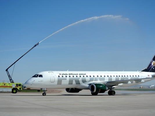 2 2012 inaugural Frontier flight
