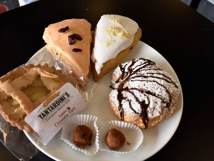 Assorted pastries at Tandardini's European deli in