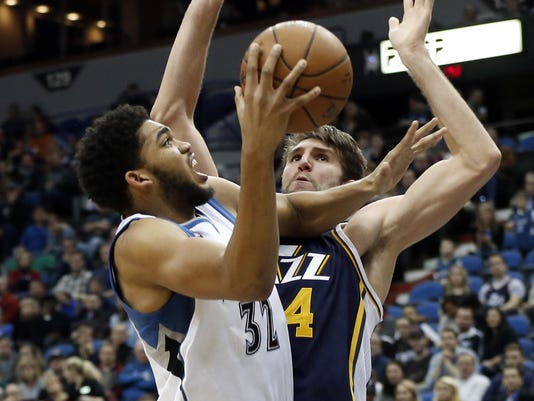 Karl-Anthony Towns, Jeff Withey