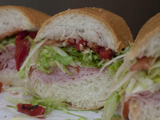 A classic sandwich from Vintage Subs in Asbury Park.