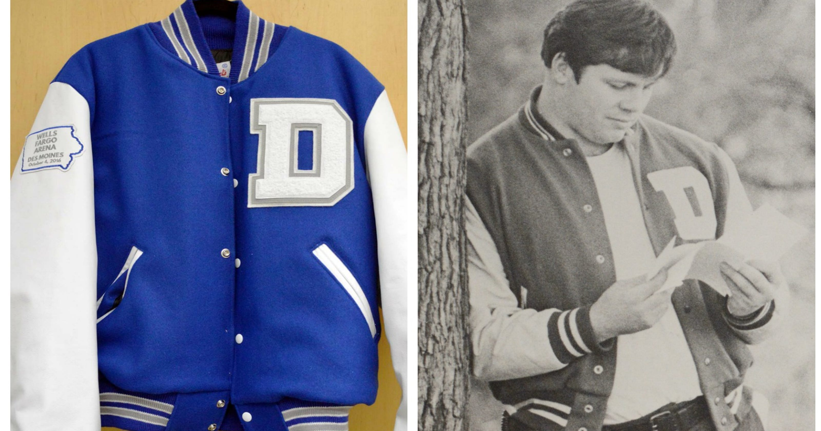 620544d028a The story behind all of Drake's sweet Drake University swag