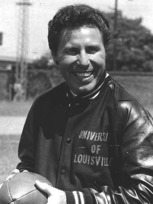 Former U of L football coach Lee Corso in September 1969.