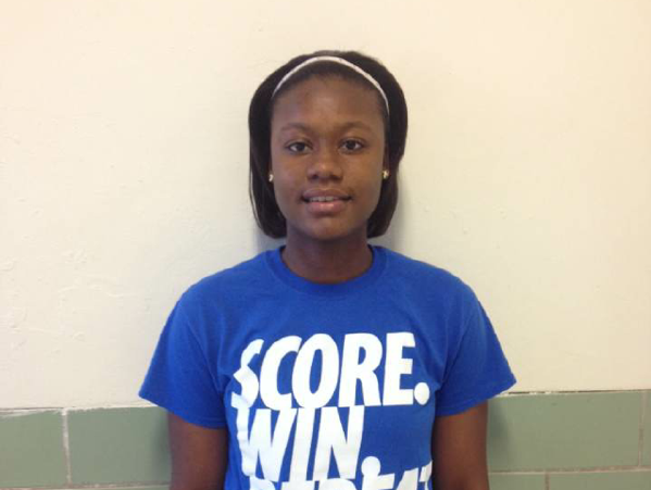 Lanier guard Brittany Rose