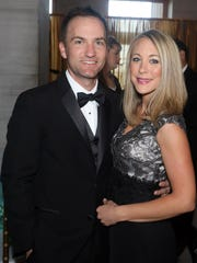 Stephen and Christina Smith attend The Tennessee Waltz