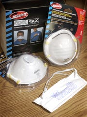 Respirator masks come in a variety of styles for different jobs.