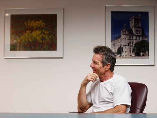 The News-Leader caught up with Dennis Quaid on Wednesday,