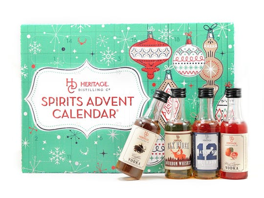 Heritage Distilling Co.'s Spirits Advent Calendar,