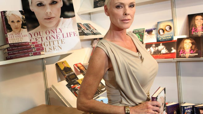 Actress Brigitte Nielsen, who turns 55 in July, is set to become a mom for the fifth time.