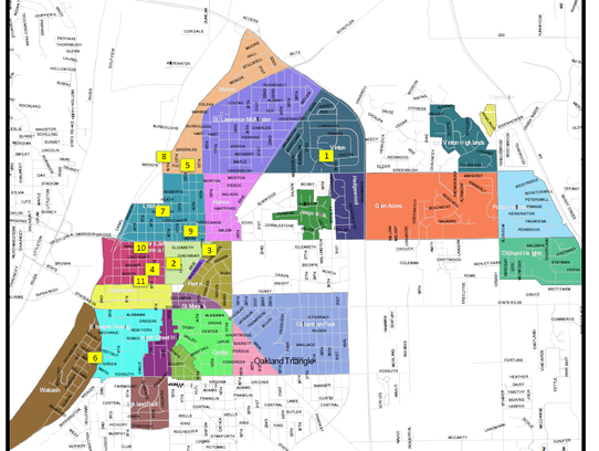 This map, created by Grow Local, shows where sharing