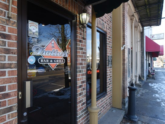 Trotter's Bar and Grill on Main Street in New Lexington